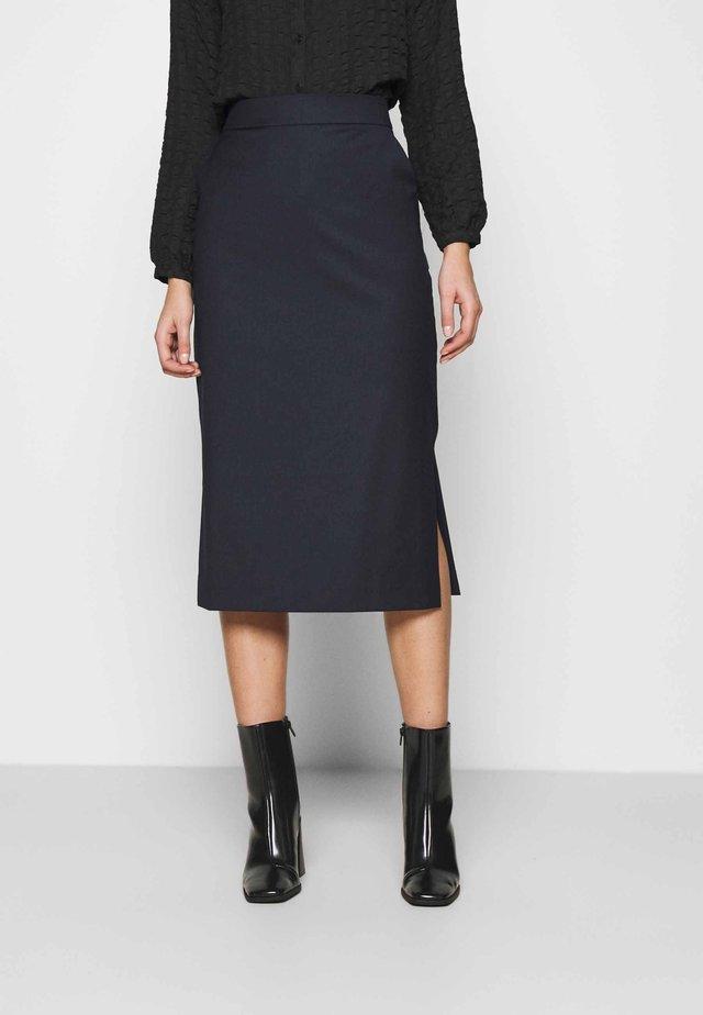 ANICE - Pouzdrová sukně - navy blue