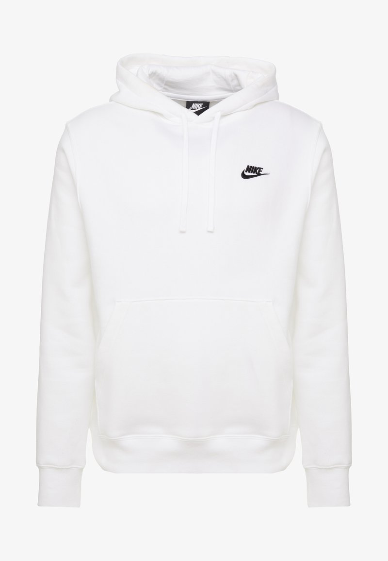 Consejos Histérico clase  Nike Sportswear CLUB HOODIE - Sweat à capuche - white/black/blanc -  ZALANDO.FR