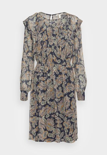 FLUENT DRESS - Day dress - navy