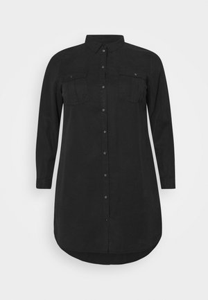VMSILLA SHORT DRESS - Shirt dress - black