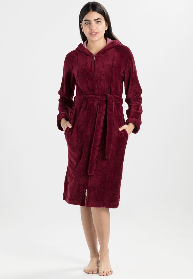 PALERMO - Dressing gown - burgundy