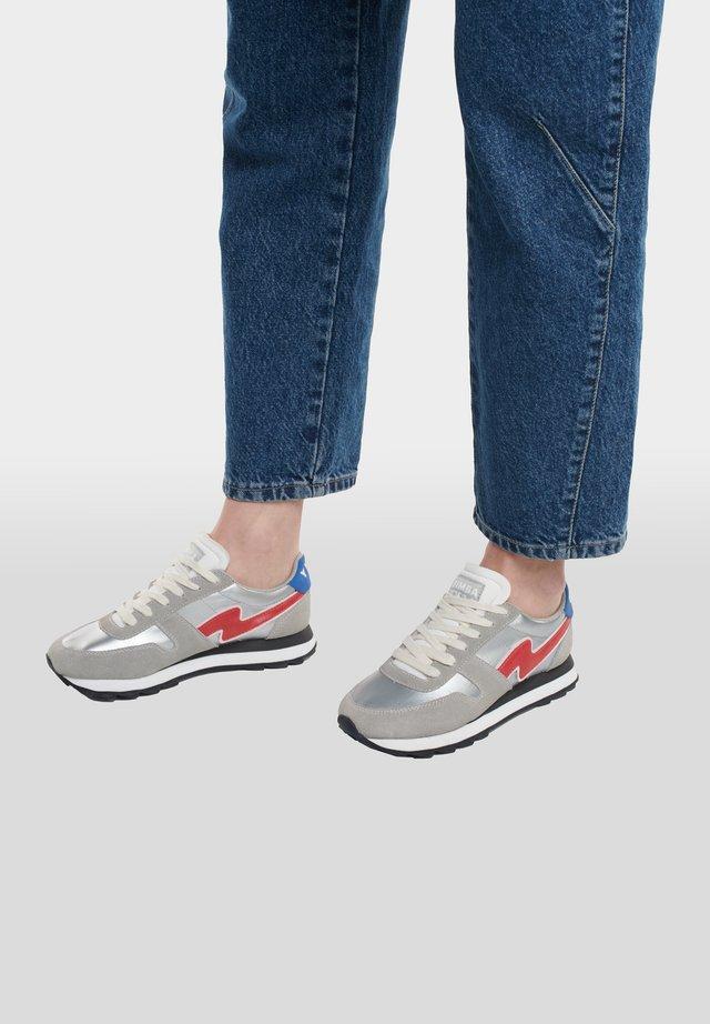 Sneakers laag - silver/grey