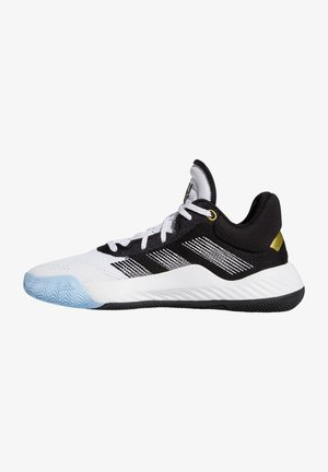 D.O.N. ISSUE - Basketball shoes - footwear white / core black / gold metallic