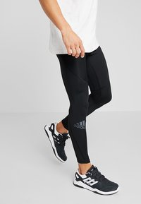 adidas Performance - ALPHASKIN - Leggings - black - 0