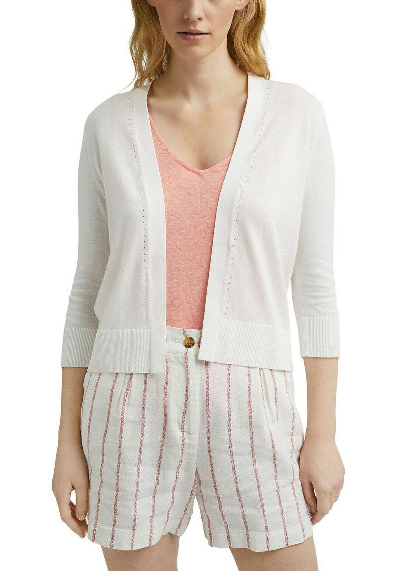 Esprit - CARDIGAN - Cardigan - off white