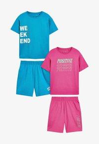 Next - SLOGAN - Pyjama set - pink - 0