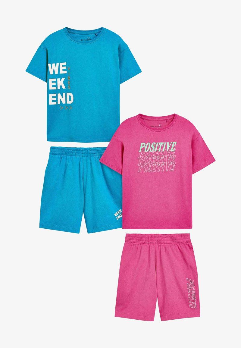 Next - SLOGAN - Pyjama set - pink