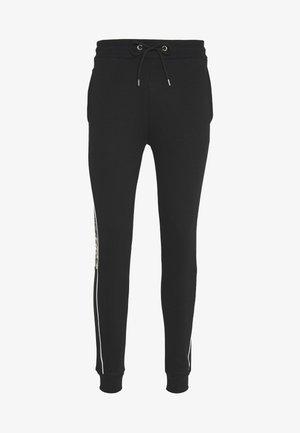 CAMO CUT SEW JOGGER - Teplákové kalhoty - black
