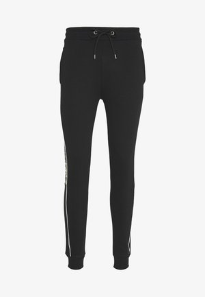 CAMO CUT SEW JOGGER - Spodnie treningowe - black