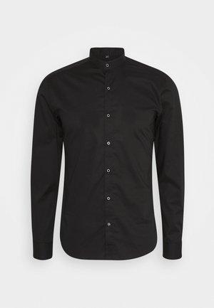 SLIM FIT STEHKRAGEN - Formal shirt - schwarz