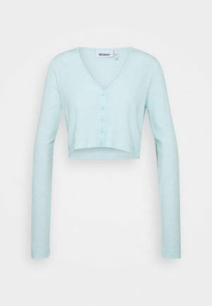 TEEGAN CARDIGAN - Strickjacke - baby blue