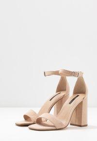 Miss Selfridge - STEFFI - Sandaler med høye hæler - nude - 4