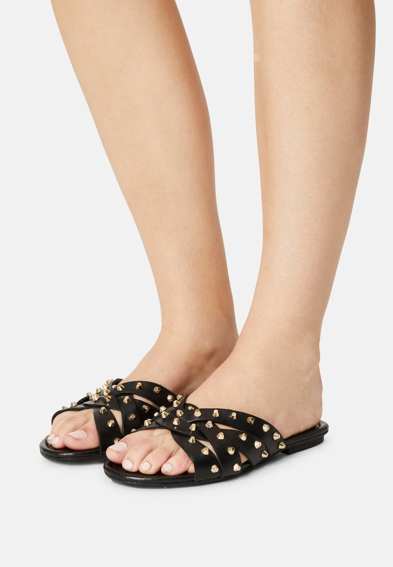 Copenhagen Shoes - NEW MISTY - Ciabattine - black