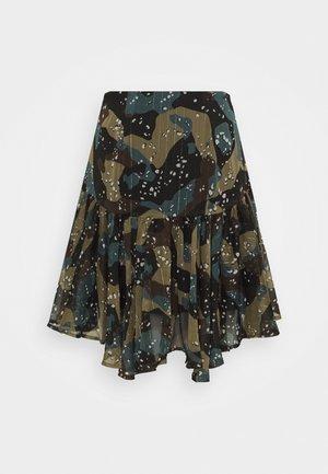 VELMA SKIRT - A-line skirt - olive/khaki