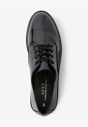 FOREVER COMFORT PATENT CHUNKY  - Lace-ups - black