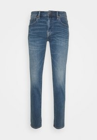 ATHLETIC DARK WASH - Straight leg jeans - blue denim