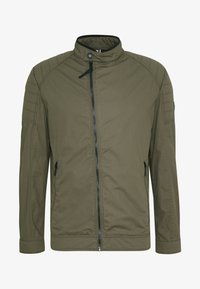 Strellson - ROVIGO STAND UP  COLLAR - Summer jacket - olive - 4