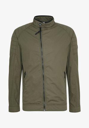 ROVIGO STAND UP  COLLAR - Summer jacket - olive