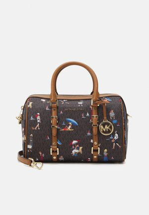 DUFFLE SATCHEL - Handbag - brown/multi