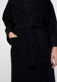 EDITED - SANTO COAT - Classic coat - black - 4