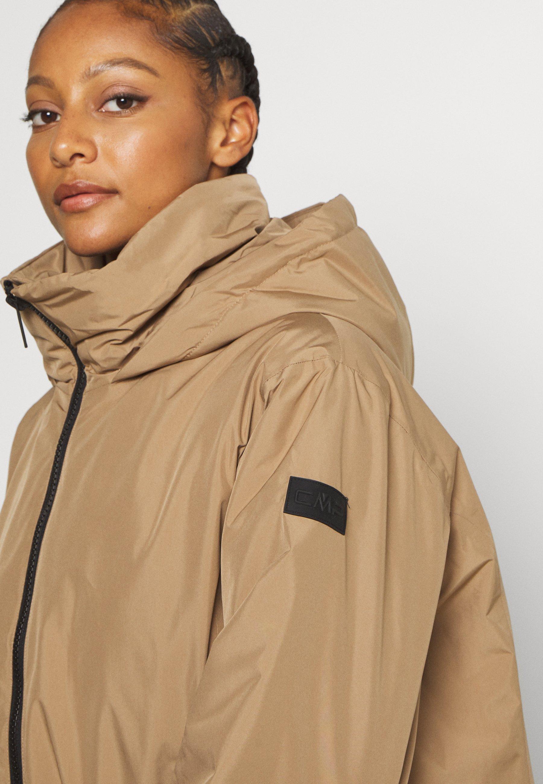 CMP WOMAN JACKET FIX HOOD - Winter jacket - dune b0oVM