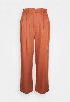 PAPERBAG - Trousers - cinnamon brown