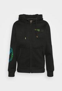 Carlo Colucci - UNISEX - Zip-up sweatshirt - black - 5