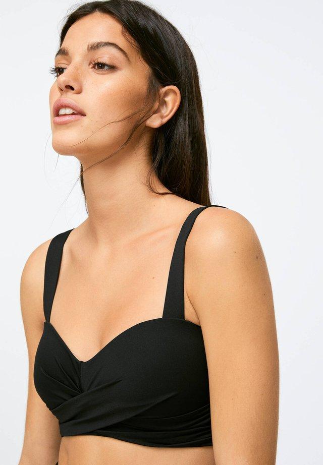 Bikiniyläosa - black