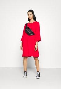 Monki - OLIVIA DRESS - Day dress - red - 1