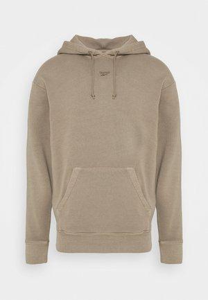 HOODIE - Jersey con capucha - trek grey