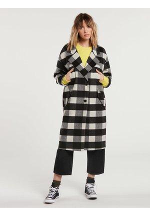 OVER COAT - Classic coat - black