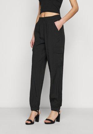 ONLMISTY LONG PANT - Cargo trousers - black