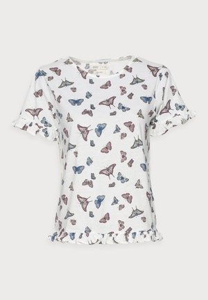 VOLANTE - T-shirt con stampa - sand