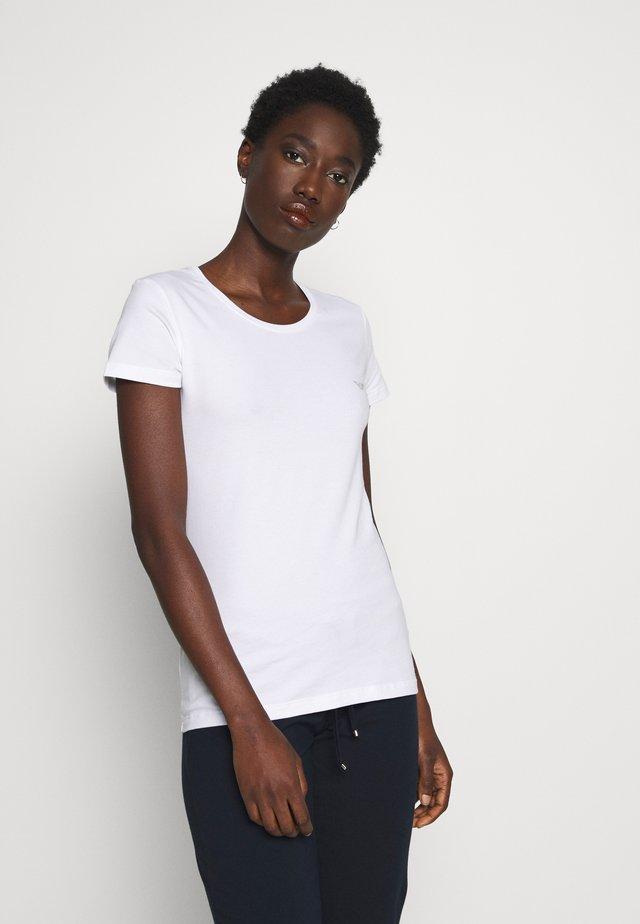 Pyjamashirt - bianco