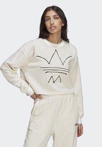 adidas Originals - Sweatshirt - off white mel - 0
