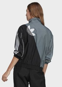 adidas Originals - ADICOLOR SLICED TREFOIL  - Training jacket - blue - 1