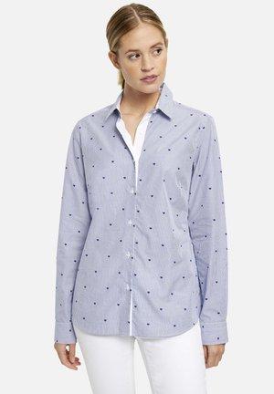 Skjortebluser - white blue