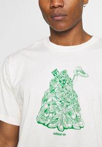 adidas Originals - STAN UNITE TEE UNISEX - T-shirt con stampa - off-white - 5