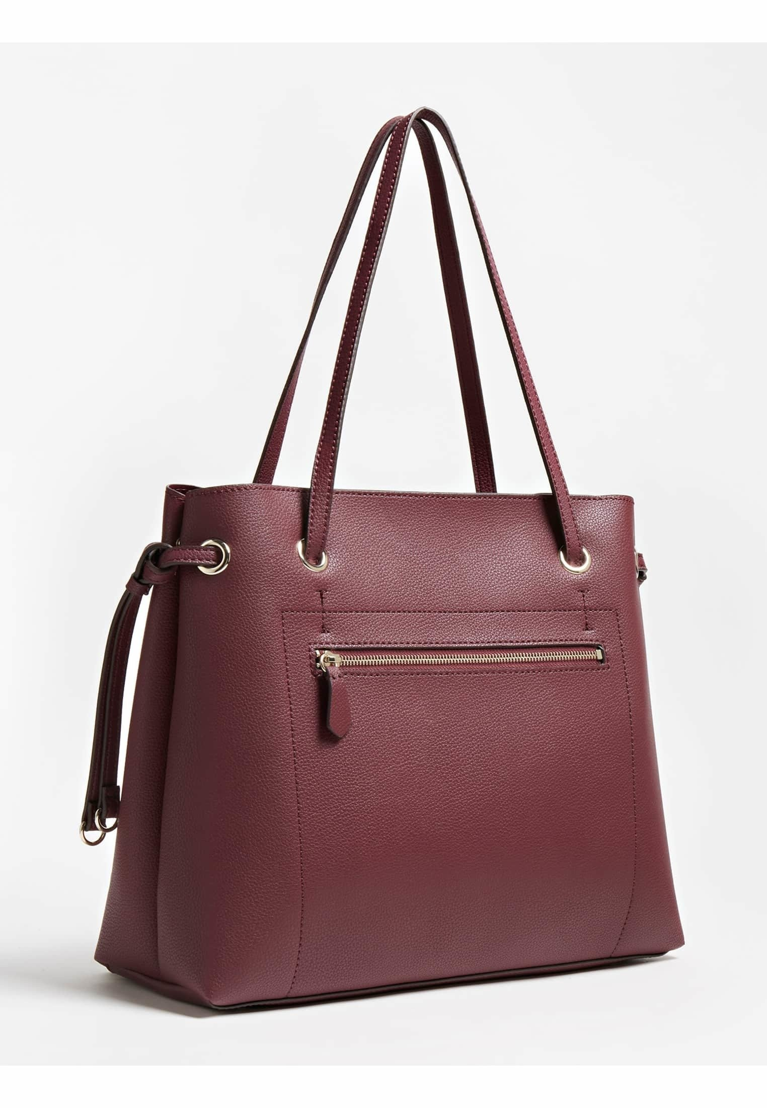 Guess Shopping Bag - Rot/bordeaux