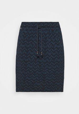 TIGUA - Pouzdrová sukně - navy