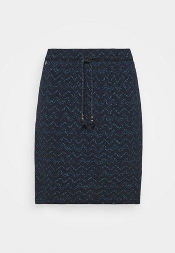 TIGUA - Pencil skirt - navy