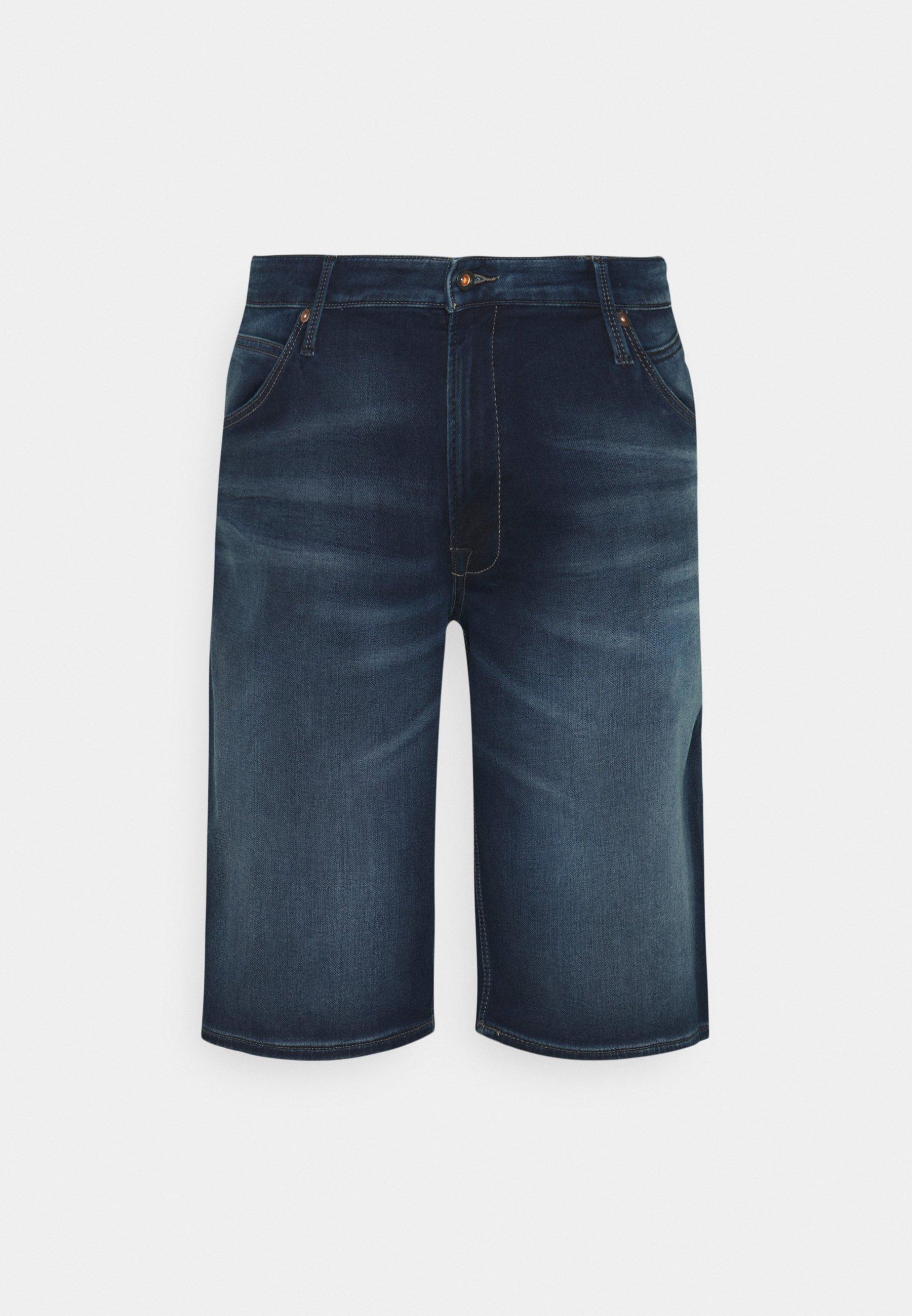 Men JJIREX JJLONG - Denim shorts