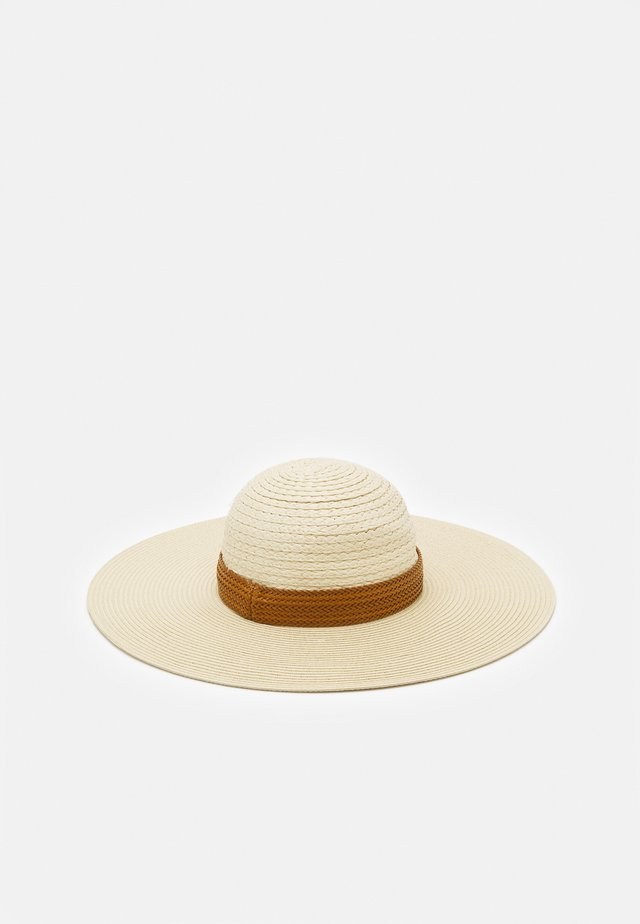 CRASWEN - Chapeau - light natural/cognac/gold-coloured