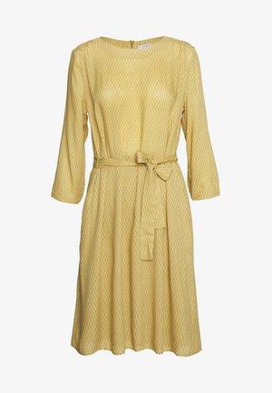 MINIMAL PRINT DRESS - Day dress - dusty desert