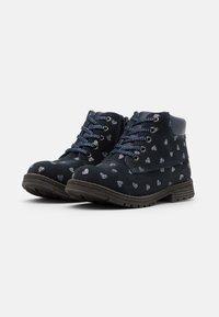 Friboo - Šněrovací kotníkové boty - dark blue - 1
