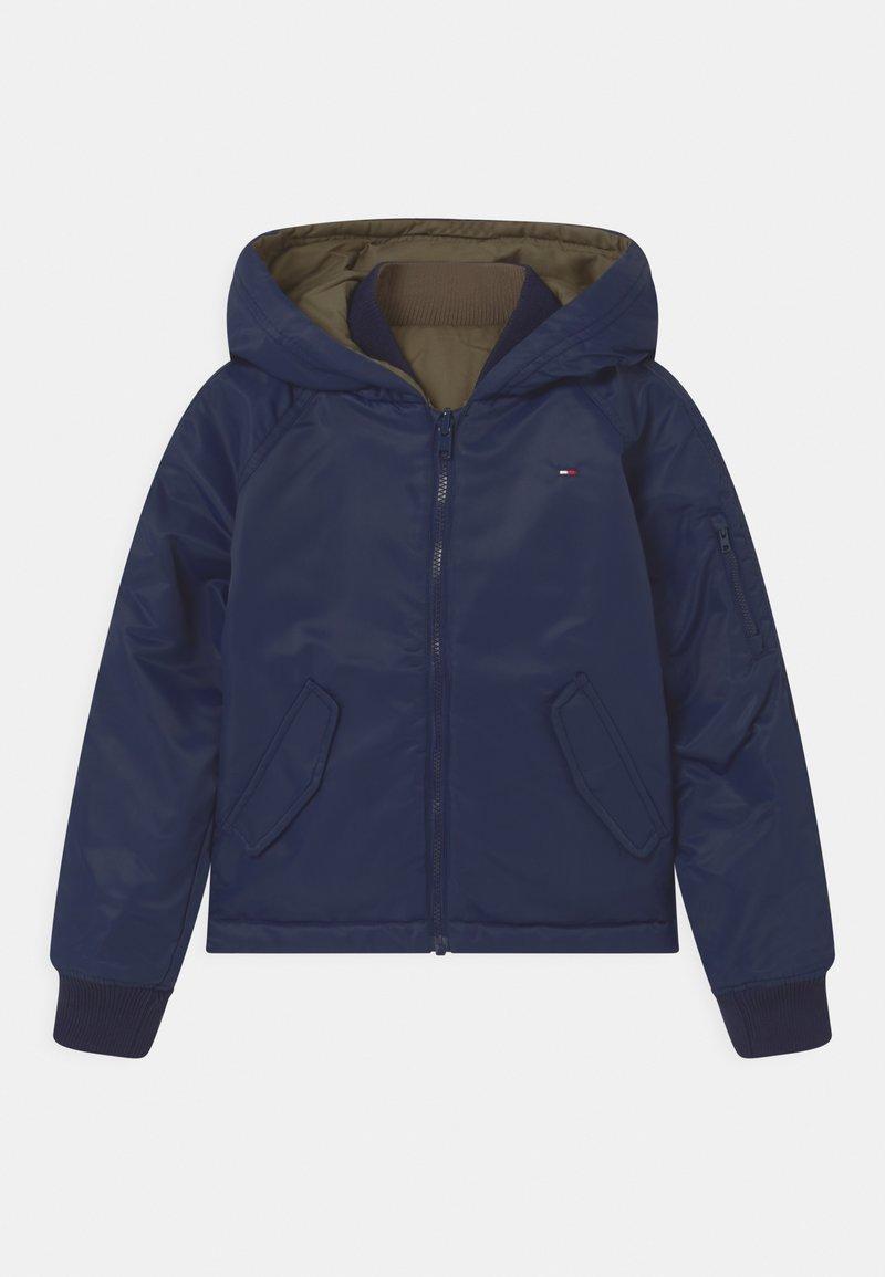 Tommy Hilfiger - REVERSIBLE  - Winter jacket - twilight navy/olive