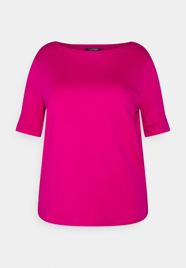 JUDY ELBOW SLEEVE - T-shirt basique - nouveau bright pink