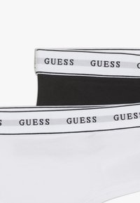 Guess - JUNIOR UNDERWEAR 2 PACK - Kalhotky - white/black - 4