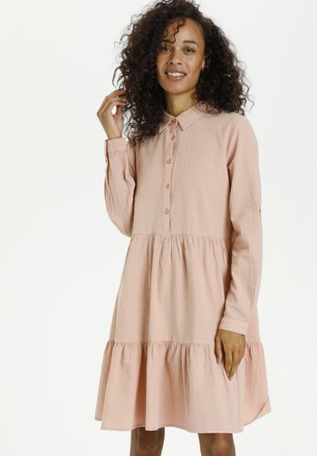 KANAYA - Shirt dress - misty rose