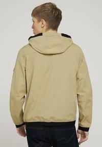 TOM TAILOR - Light jacket - smoked beige - 2